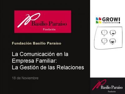 """Curso """"Comunicación en la Empresa Familiar"""""""