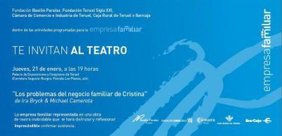 El Teatro de la Empresa Familiar llega a Teruel