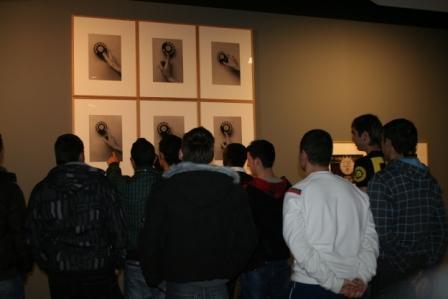 El IES Miralbueno visita la exposición Transformaciones
