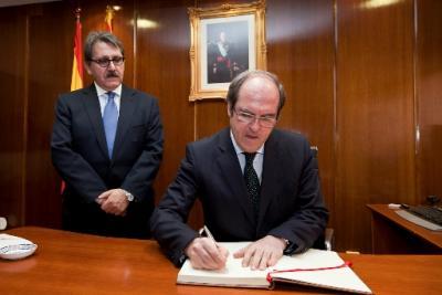 Visita del Ministro de Educación, Ángel Gabilondo