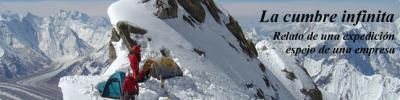 La cumbre infinita: relato de una expedición, espejo de una empresa